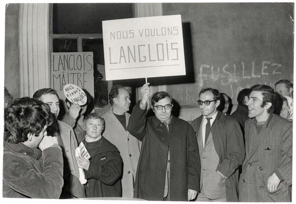 Démonstration d'amour en 68, par Chabrol et Godard